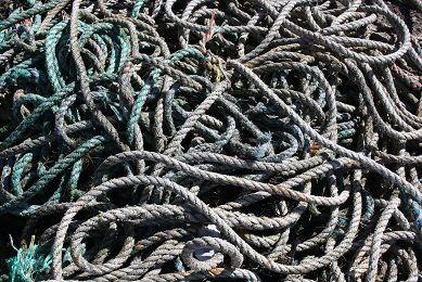 Entangled ropes